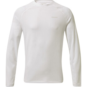 Craghoppers NosiLife Bayame II Longsleeve T-Shirt Heren, optic white